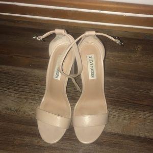 Steve Madden high heels nude